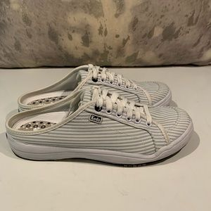 AWESOME CANDY STRIPE KEDS MULE SNEAKERS SIZE 6.5